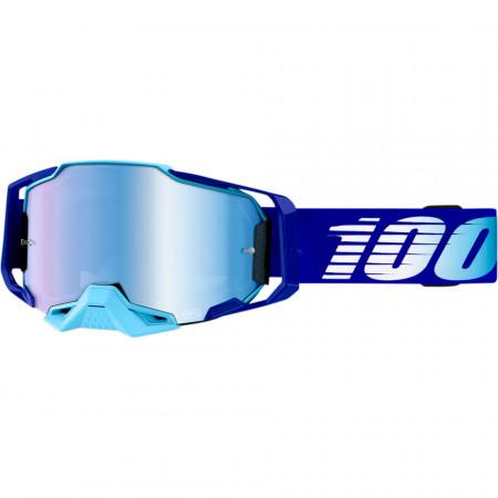 100% GOGGLE ARM ROYAL cu lentila MIRROR BLUE