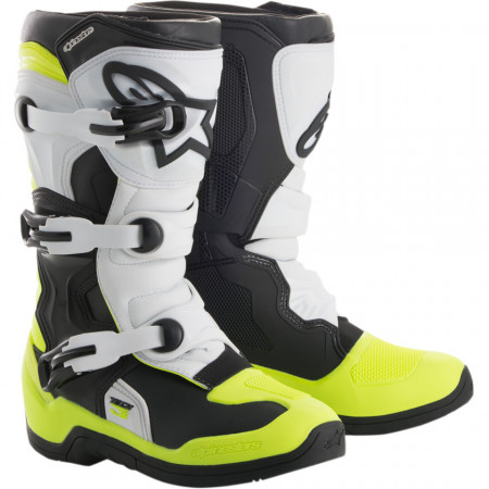 Ghete moto youth ALPINESTARS YOUTH TECH 3S OFFROAD BOOTS