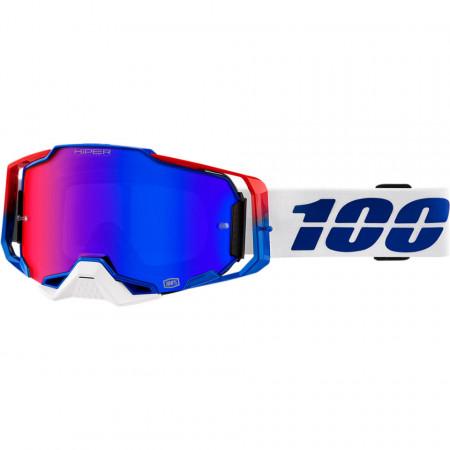 100% GOGGLE ARM GEN cu lentila MIRROR BLUE / RED