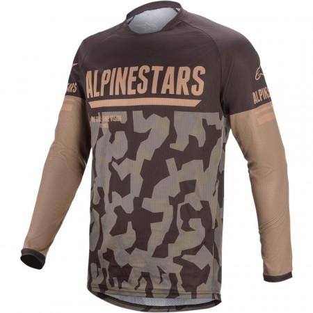 Tricou motocross / enduro ALPINESTARS JERS VENT-R CAMO/SAND