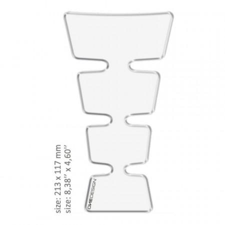 ONEDESIGN TANK PAD universal TRANSPARENT 21.3 x 11.7 cm