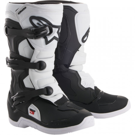 Ghete moto youth ALPINESTARS YOUTH TECH 3S OFFROAD BOOTS BLK / WHT