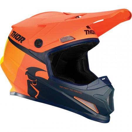 Casca THOR SECTR RACER OR/MN