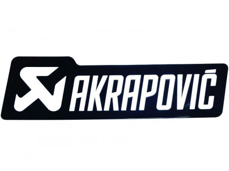 Sticker termorezistent evacuare AKRAPOVIC