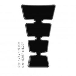 ONEDESIGN TANK PAD universal NEGRU LUCIOS 17.7 x 10.9 cm