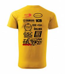 Tricou Galben Top Cross TCS 2021 (Barbati)