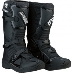 Cizme copii motocross / enduro MOOSE RACING S18Y OFFROAD BOOTS BLACK