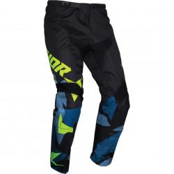 Pantalon copii motocross / enduro THOR SCT YTH WAR BL/AC