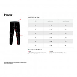 Pantalon copii motocross / enduro THOR PLS YTH AIR