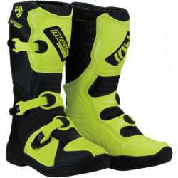 Cizme copii motocross / enduro MOOSE RACING S18Y OFFROAD BOOTS HI-VIZ YELLOW/BLACK