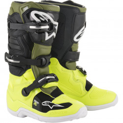 Ghete moto youth ALPINESTARS BOOT T7S Fluo / Black