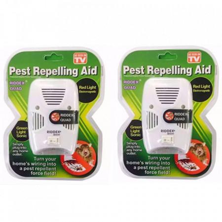 Set 2 aparate pest repeller RIOOEX QUAD