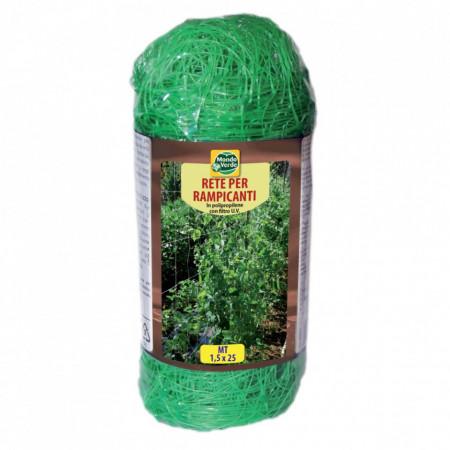 Plasa sustinere plante 1.5x25m Mondo Verde