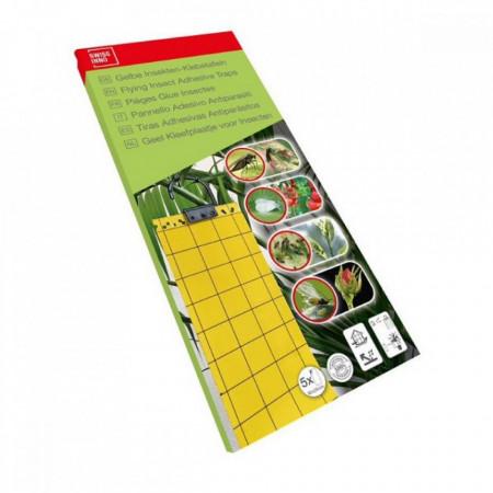 Hartie adeziva anti insecte pentru protectia plantelor