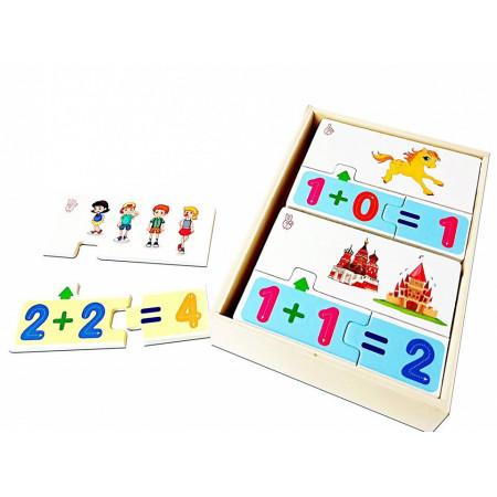 Joc educativ Montessori din lemn | Multi function matching