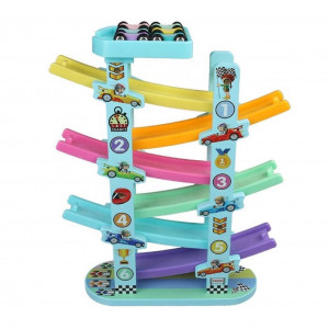 Ramp Racer With Six Level Track