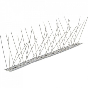 Kit tepi anti pasari cu lungime de 1 metru fabricat din inox