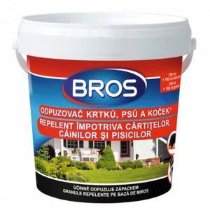 Granule impotriva cainilor si pisicilor 350 ml + 100 ml extra Bros