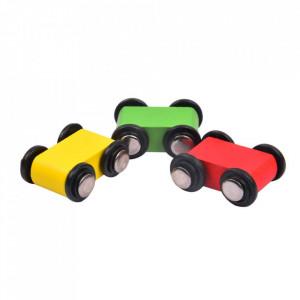 Pista cu Masinute din Lemn | Miniature Speeding Car