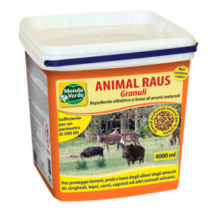 Animal Raus - Granule pentru alungarea animalelor salbatice precum porci mistreti,captioare etc.