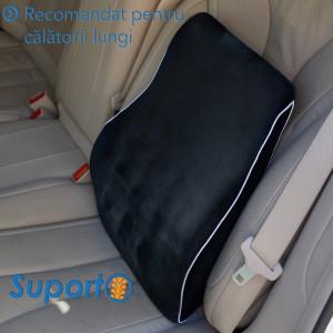 Perna ortopedica lombara pentru scaun de birou sau masina Suporto-PL2N000