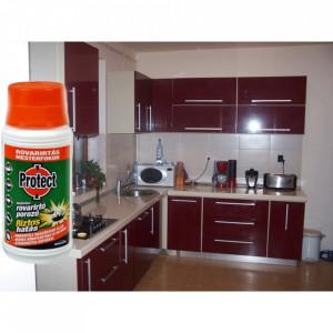 Insecticid pulbere impotriva gandaci,pureci, paduchi, insecte zburatoare PROTECT