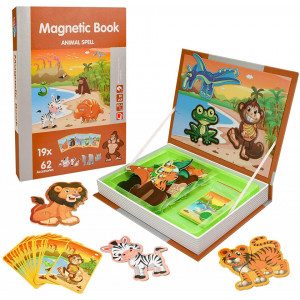 magnetic book animal spell