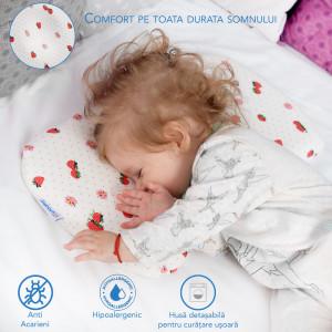 Perna pentru bebelusi Suporto Baby-PBER000, 0-12 luni, Roz