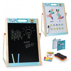 Tabla magnetica educativa pentru copii cu Tangram Beilaluna