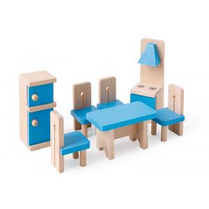 Mobilier din lemn pentru casuta papusilor | Family Kitchen