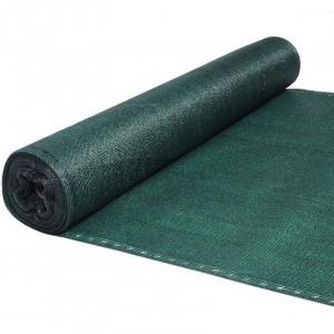 Plasa verde pentru gard 1.5x10m cu grad de umbrire 90%