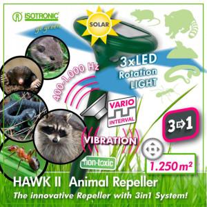 Aparat anti cartite cu alimentare solara 3 in 1 Isotronic 70049 Hawk II