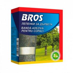 Banda adeziva pentru copaci 5m Bros 385