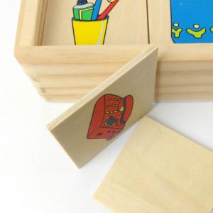 Joc educativ Montessori din lemn | Matched Images