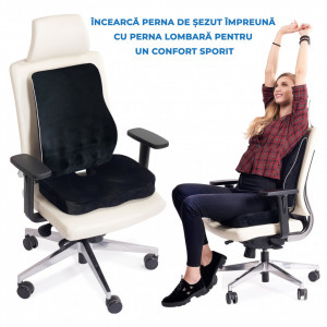 Perna Ortopedica Sezut suport Coccis Suporto-PSENE00 Fermitate Extra >80Kg