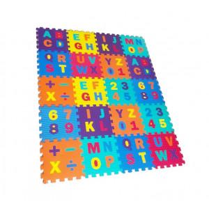 covor puzzle spuma