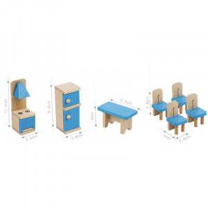 Mobilier din lemn pentru casuta papusilor   Family Kitchen