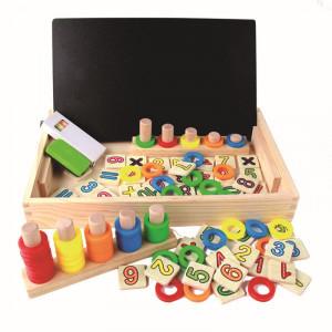 Joc educativ din lemn montessori
