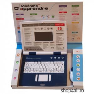 Laptop educativ pentru copii cu 65 de functii | Machine D'apprendre