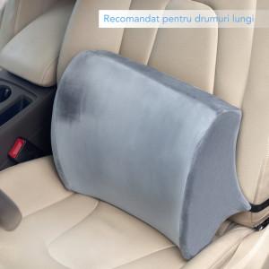 Perna ortopedica lombara pentru scaun de birou sau masina Suporto-PL1N000