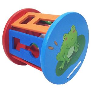 Joc educativ din lemn pentru copii wisdom shape wheel