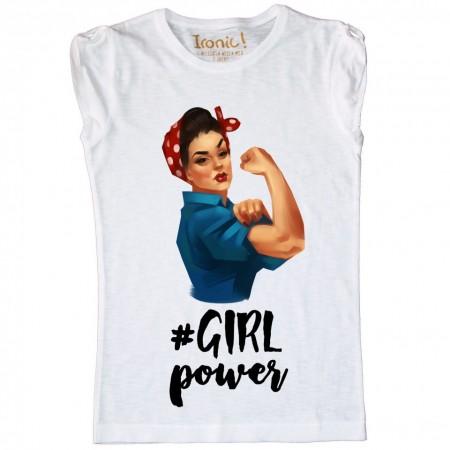 """Maglia Bambina """"Girl Power"""""""