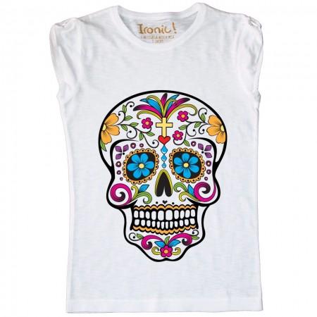 Maglia Donna Skull Mexican