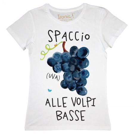 """Maglia Donna """"Spaccio Uva..."""""""