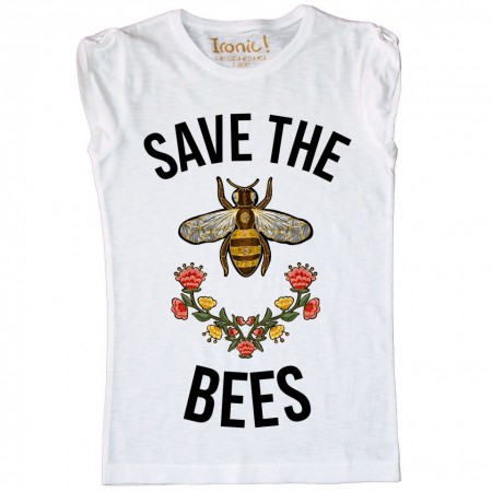 "Maglia Donna ""Save the Bees"""