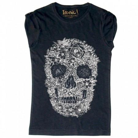 """Maglia Donna """"Skull Rose"""""""