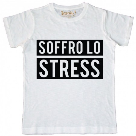 """Maglia Uomo """"Soffro lo Stress"""""""