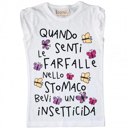 """Maglia Donna """"Insetticida..."""""""