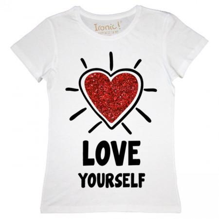 """Maglia Donna """"Love Yourself"""""""