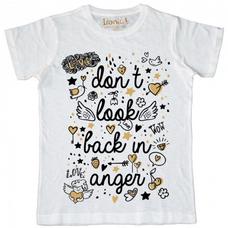 "Maglia Bambino ""Don't look back in anger"""